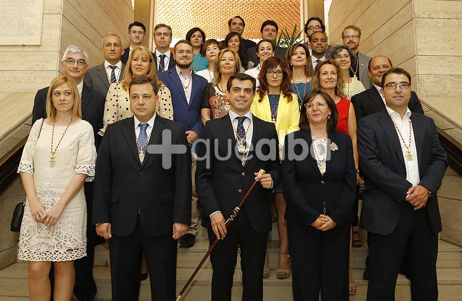 Esta es la nueva corporaci n del ayuntamiento de albacete for Oficina de turismo albacete