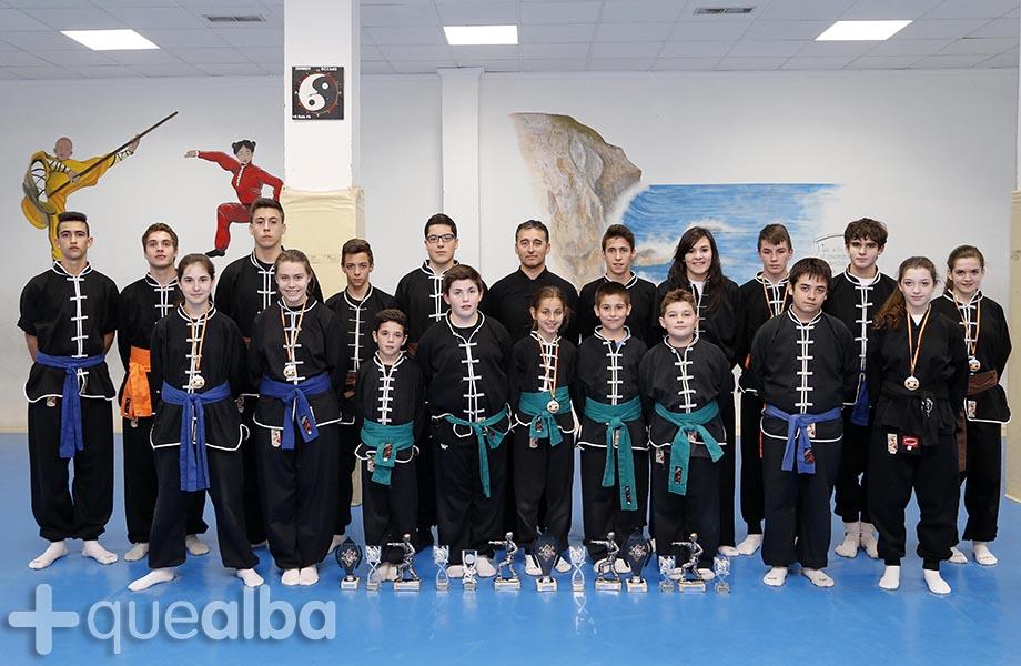 Presencia albacete a en el xxvii campeonato de espa a de for Gimnasio imaginalia