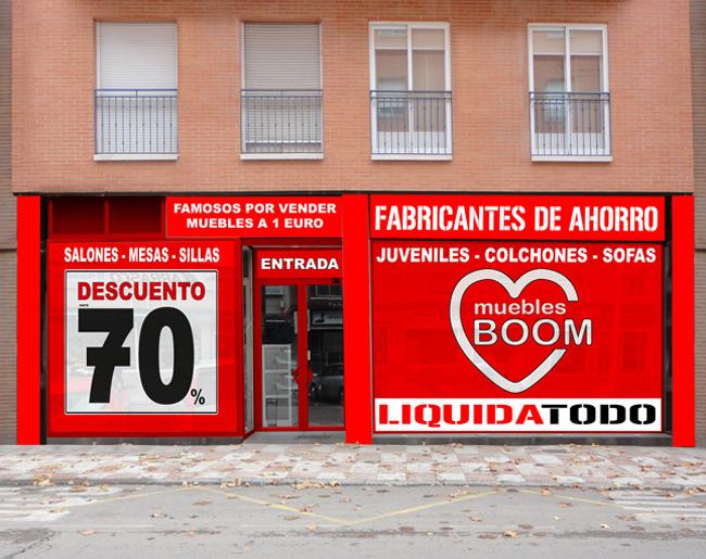la tienda de los muebles a 1 euro aterriza en castilla la ForMuebles Boom Puertollano