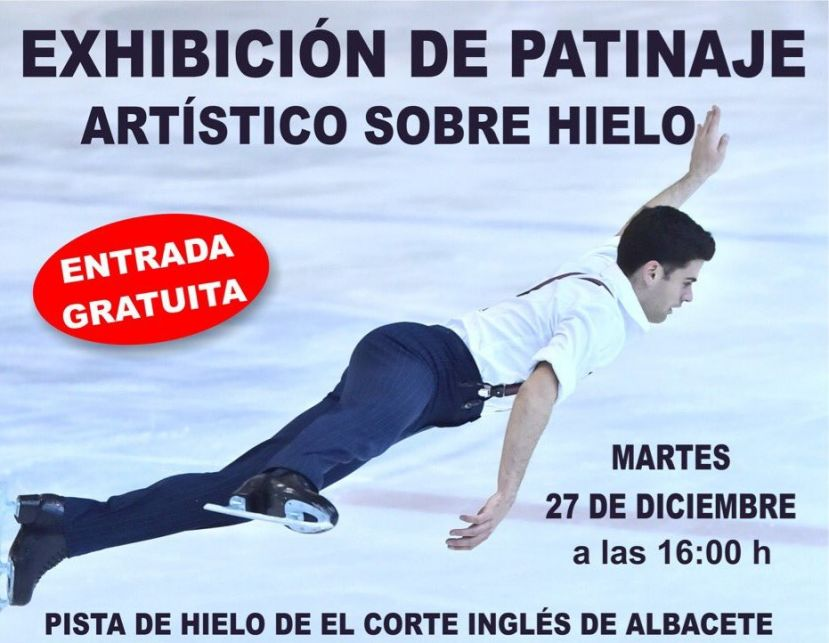 Ma ana martes espect culo gratuito de patinaje art stico Espectaculo artistico de caracter excepcional