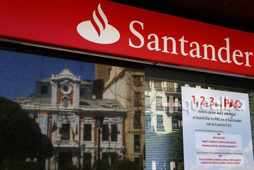 las 156 oficinas del banco santander en la regi n miran
