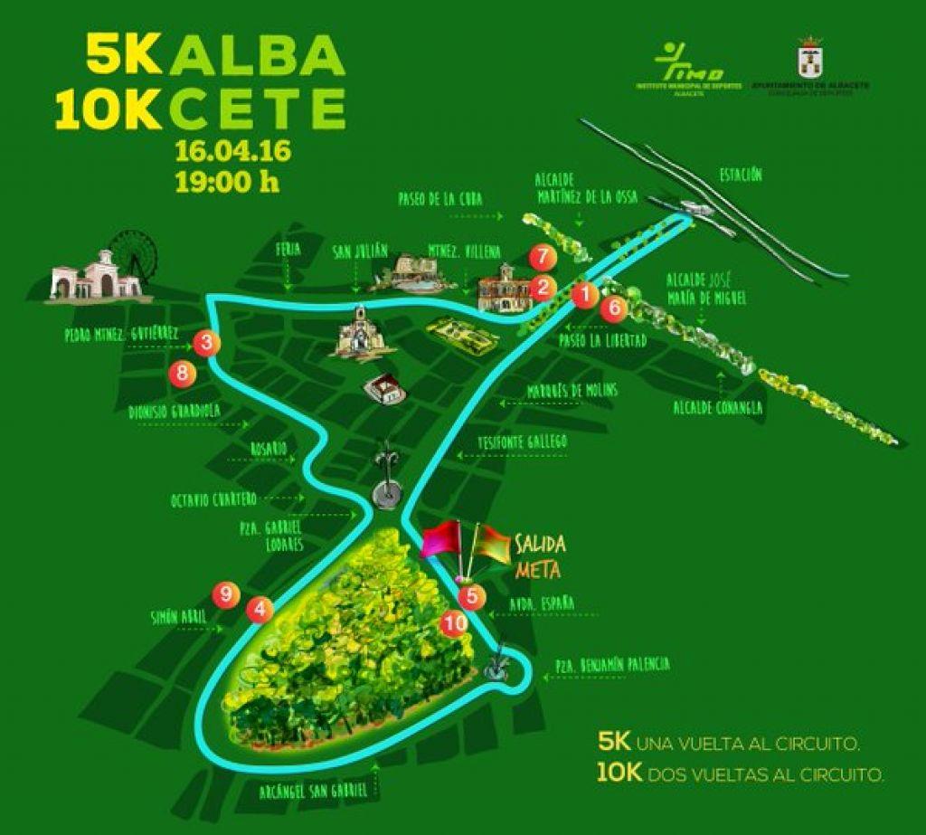 Circuito Jumilla : AsÍ serÁ el recorrido de la 10k que se correrÁ en albacete