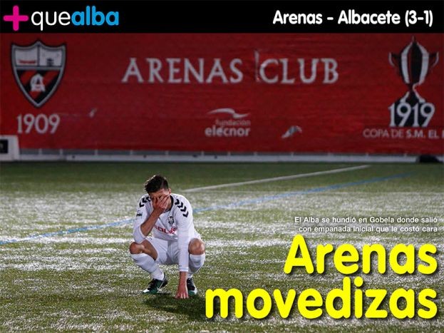REVISTA DIGITAL, Arenas - Albacete (3-1)