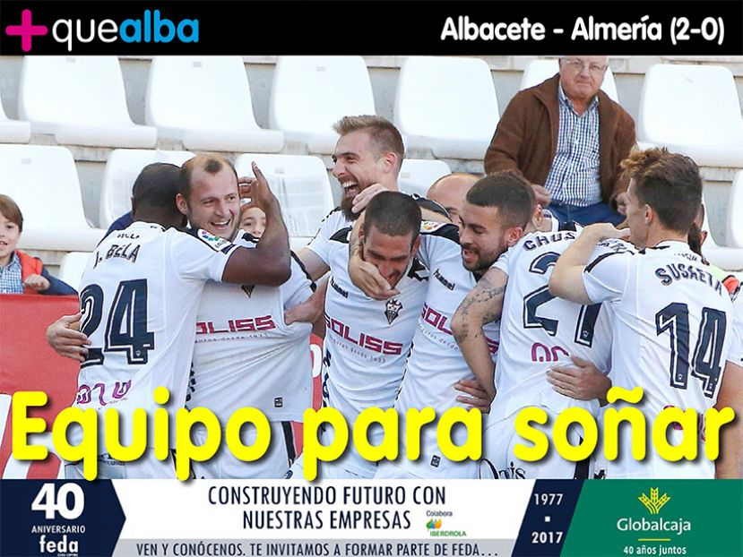 REVISTA DIGITAL Albacete - Almería (2-0)