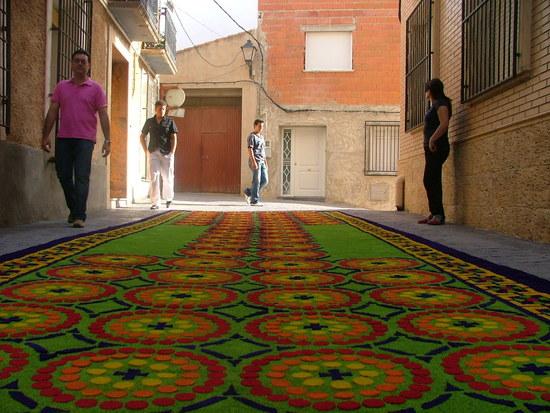 Notici n sobre las alfombras de serr n de elche de la sierra - Alfombras sierra ...