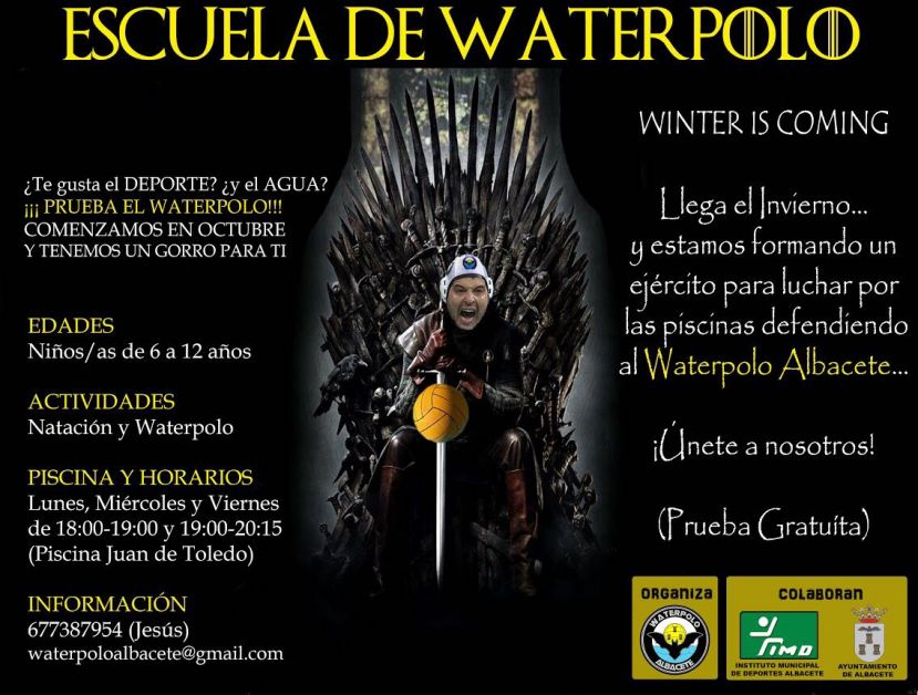 WINTER IS COMING... Vuelve el waterpolo