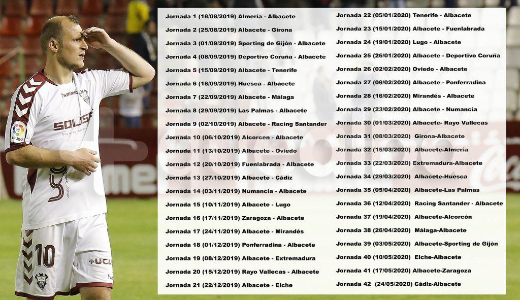 Albacete Balompie Calendario.El Fin De Semana Del 12 De Enero No Habra Liga Y Hay