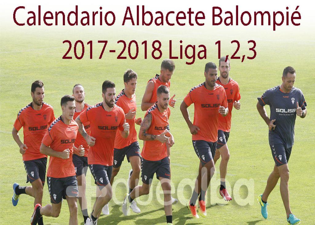 Albacete Balompie Calendario.Descargate El Calendario De Mano Solo Con Los Partidos Del