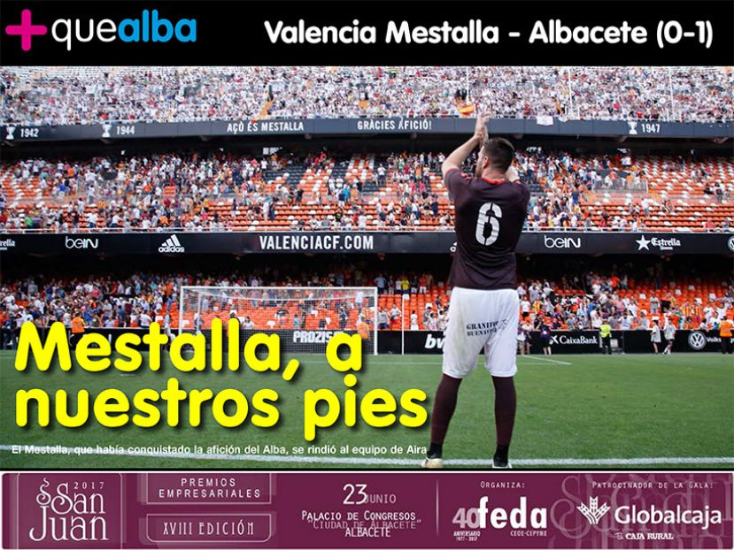 REVISTA DIGITAL Play off Ascenso Valencia Mestalla - Albacete (0-1)