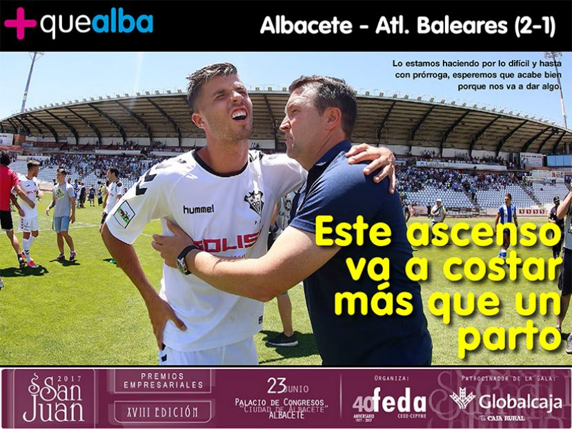 REVISTA DIGITAL Play off Ascenso Albacete - Atl. Baleares (2-1)