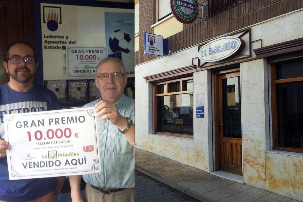 La Primitiva deja 10.000 euros en Balazote