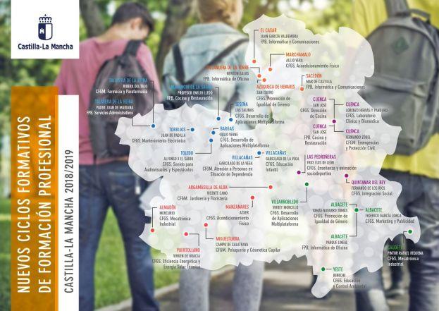 Llegan Nuevos Títulos De Fp A Albacete Así Queda El Mapa